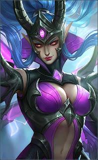 Karina Doom Duelist Heroes Assassin Mage of Skins V2