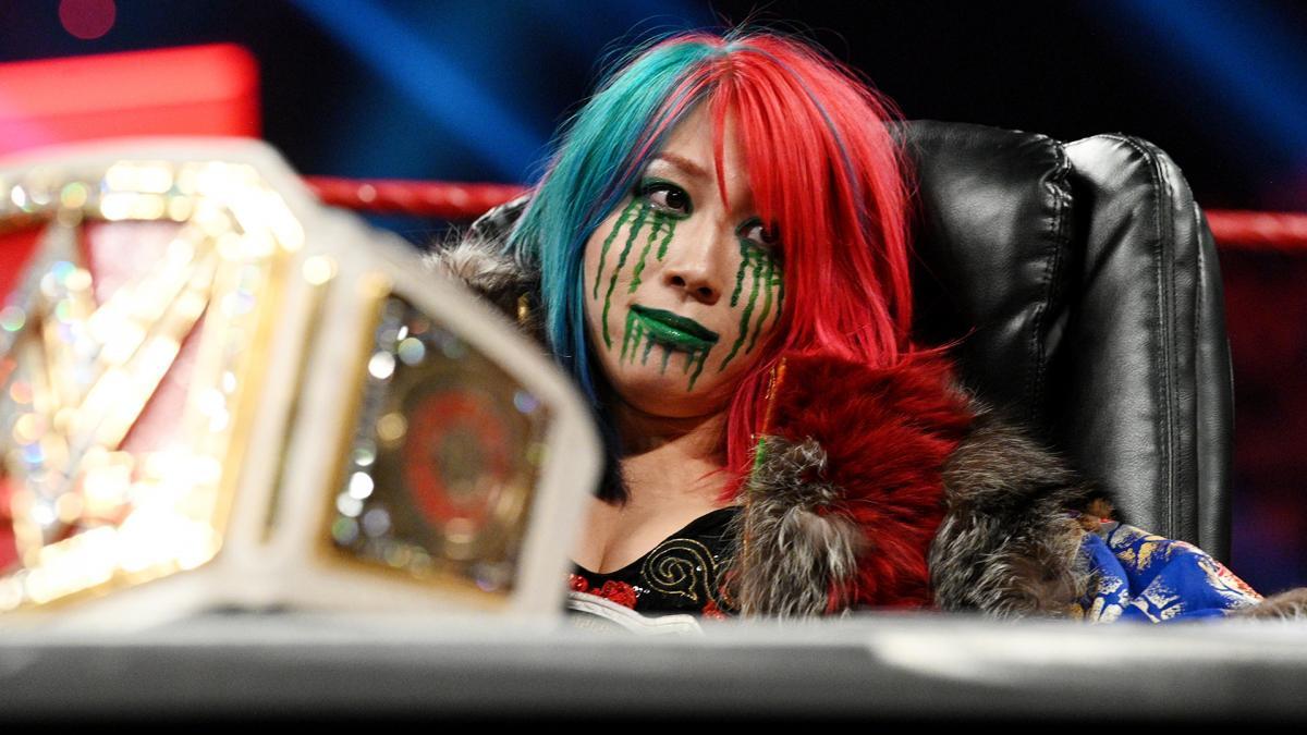 Asuka pode não participar da WrestleMania 37