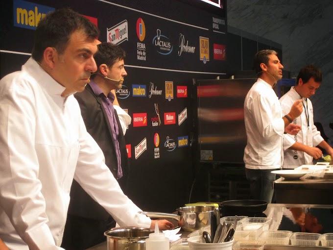 """Ramón Freixá y Paco Roncero """"nos cocinan"""" Skrei y  Cangrejo Rojo Real"""