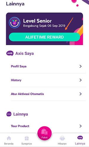 Alife Time Reward