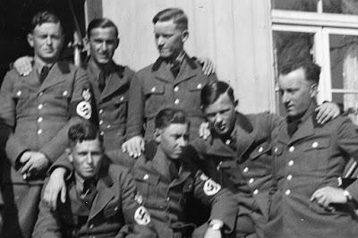 Detailaufnahme - Beim Reichsarbeitsdienst 5/300 - Wolnzach - 1930-1950
