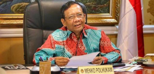 Mahfud MD Curhat Penegakan Hukum Indonesia, Malah Bertentangan dengan Jokowi