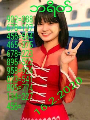Thailand Lottery 123 VIP Tips Facebook Timeline 16 February 2020