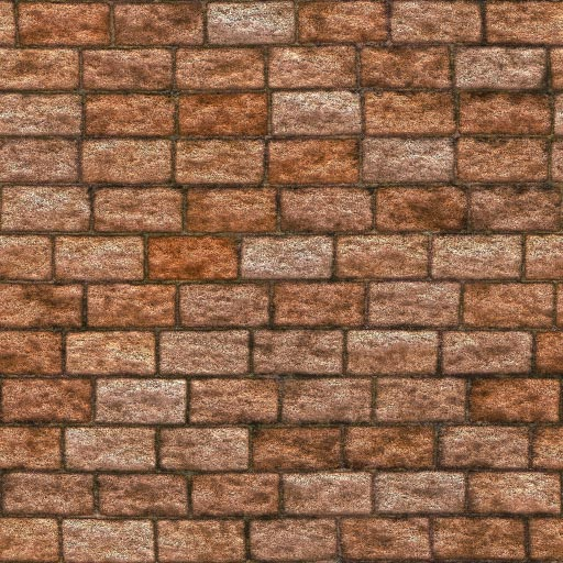 Old brick seamless tiling pattern 2