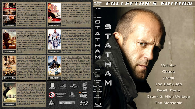 Jason Statham Collection Bluray Cover