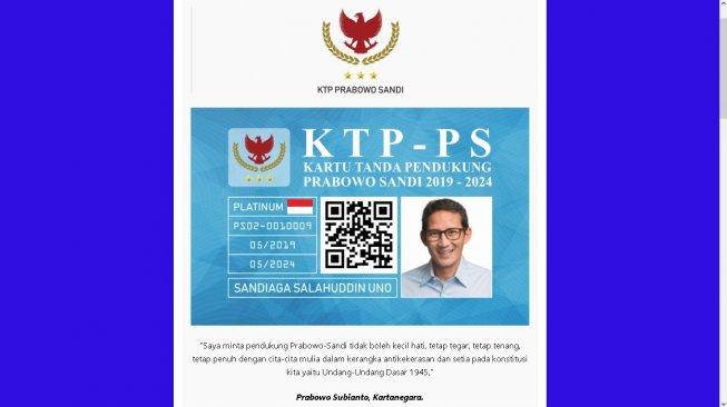 """Jawaban Telak Dahnil Soal """"Viral KTP Prabowo - Sandi, Biaya Pembuatan Rp 20 Ribu"""""""