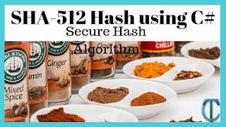 SHA-512 Hash using C#