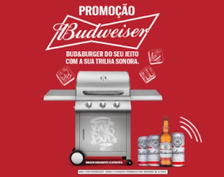 Promoção Budweiser 2021 Churrasqueira Grafitada