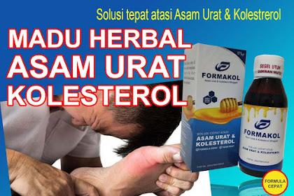 Jual Obat Herbal Asam Urat dan Kolesterol yang ampuh di Bogor