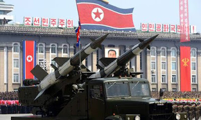 كوريا الشمالية ترعب امريكا خاصة بعد تنامي قدراتها النووية الى 40 رأساا نوويا 2020