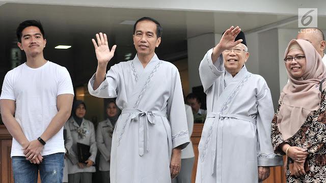 Puluhan Purnawirawan Jenderal Mendukung Jokowi - Ma'ruf Amin