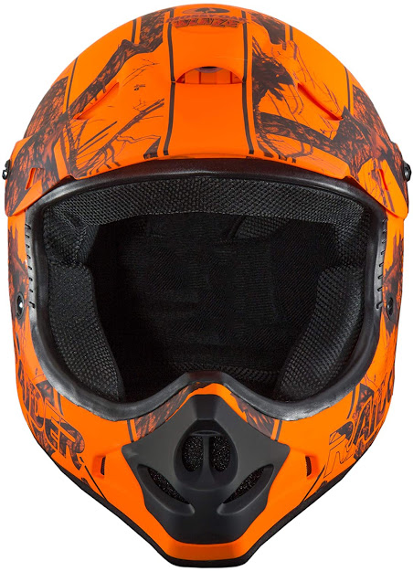 Raider Ambush Mossy Oak Unisex-Adult MX Off-Road Helmet