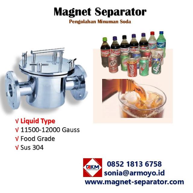 magnet separator liquid