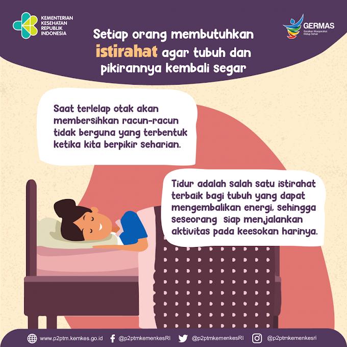 Tanos Sleep Challenge, Tantangan Untuk Memperbaiki Kualitas Tidur
