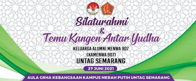 Rakerda Kamenwa 907 Untag Semarang Gelar Halalbihalal di Kampus Merah Putih Ta 2021
