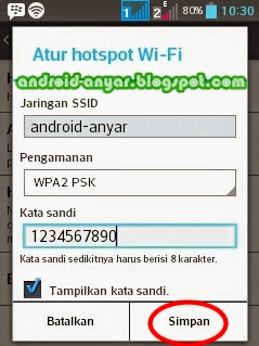 membuat wifi hotspor area di rumah sendiri