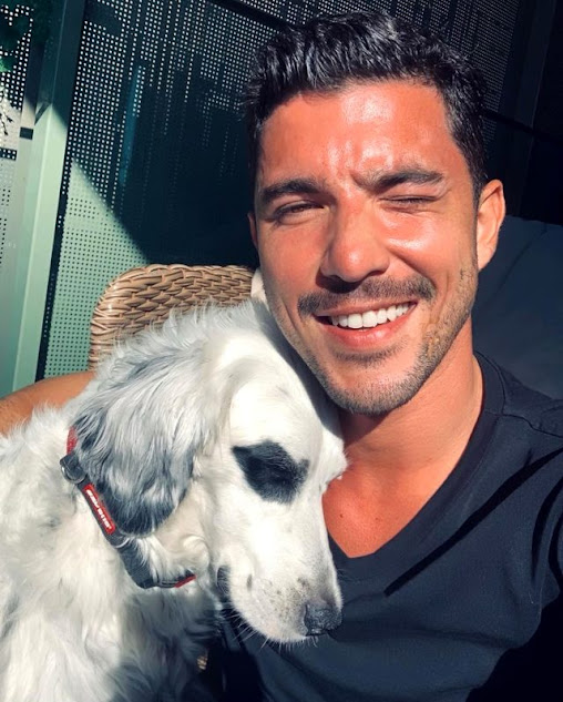 Hadise responded with his lover's dog to the allegations that he left with Kaan Yıldırım