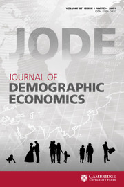 Journal of Demographic Economics (JODE)