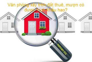 Xây nhà xưởng trên đất thuê, mượn có được khấu trừ thuế, đưa vào chi phí?
