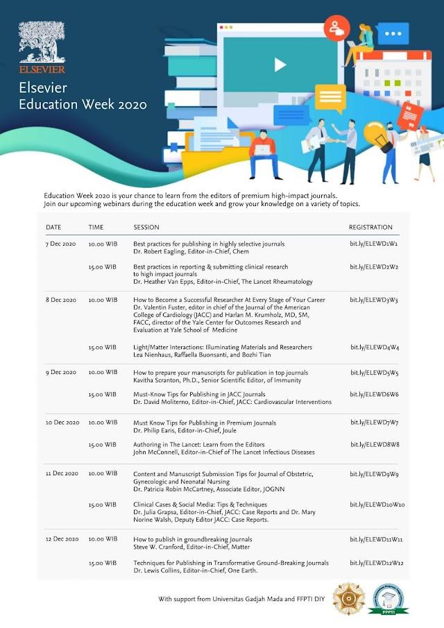 Elsevier Education Week