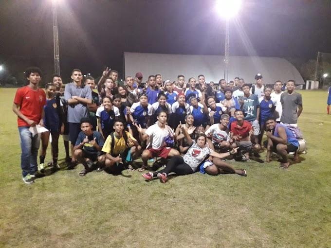 ESPORTE - Abertura da II Copa Gloss de futebol Society Feminino é realizada com sucesso