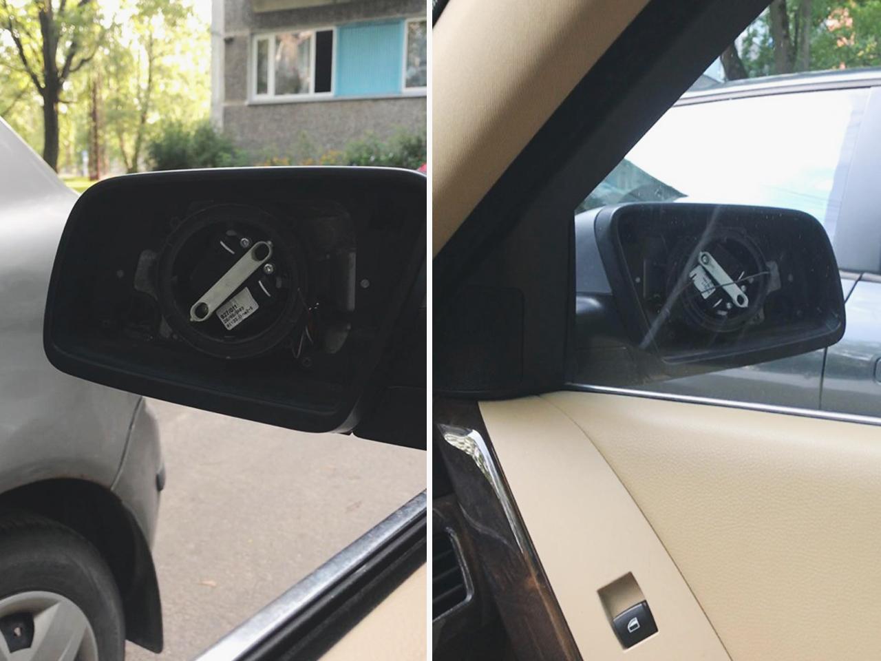Zagļi nozog auto spoguļus