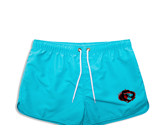 GOMAGEAR SIGNATURE LION RUNNING SHORTS - MEN