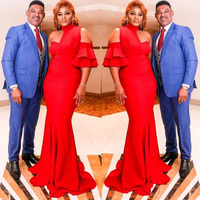 Omotola and Husband - celebrity news, entertainment news