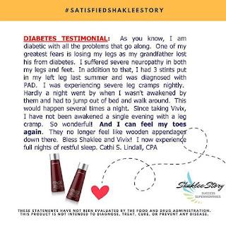 Testimoni Vivix Shaklee Untuk Darah Tinggi Mata Saraf Strok