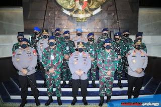 Tekan Covid sinergitas soliditas TNI dan Polri laksanakan pendidikan dan pelatihan
