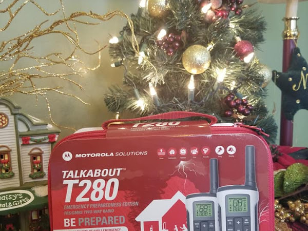 Be Prepared with Motorola Solutions Talkabout T280 Two-Way Radios + #Giveaway #MBPHGG19