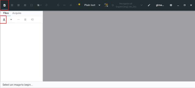 gImageReader - Import file