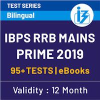 IBPS RRB Clerk Prelims 2019: Maha Mock PDF 2 & 3_50.1
