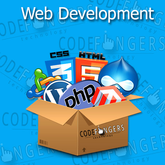 codefingers technology: Web Development.