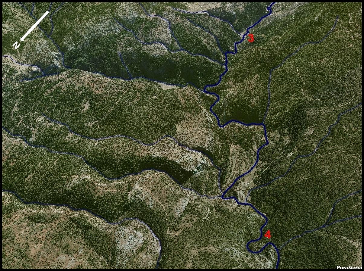 El Río Cuervo a vista de pájaro (imagen 4)