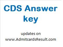 UPSC CDS 2 Answer key