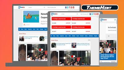 Tribunnexs Premium Blogger Template by Kamran Jaisak