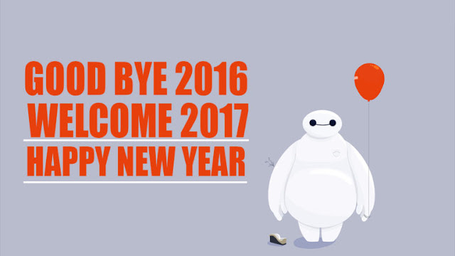 Welcome Happy New Year 2017