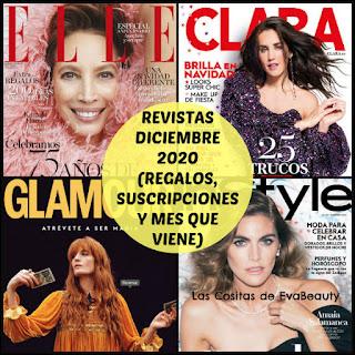 Revistas Diciembre 2020 (Regalos, Suscripciones y Mes que viene)