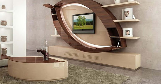 Top 40 modern TV cabinets designs - Living room TV wall units 2019 catalogue