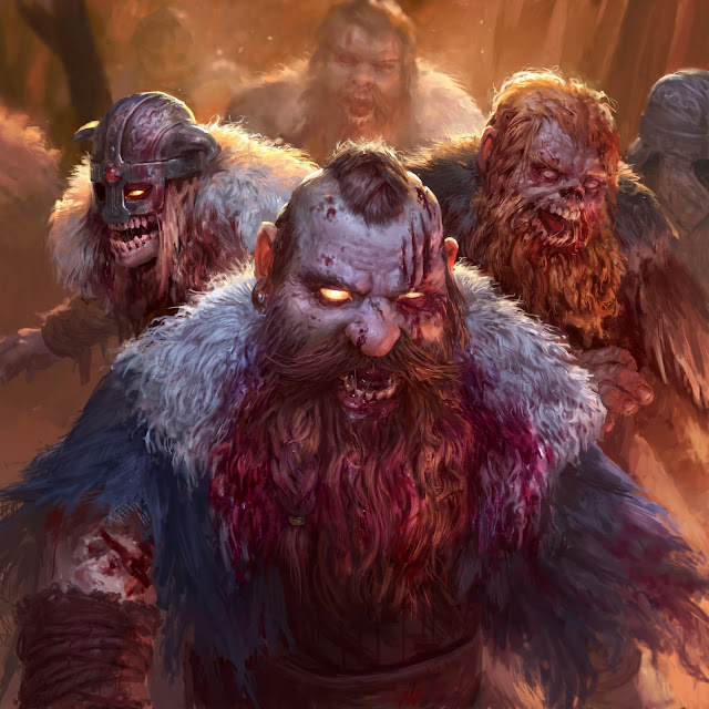 Dwarven ghouls of Axeholm