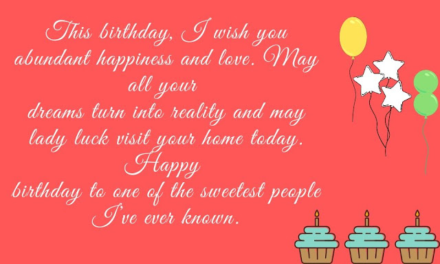 Happy birthday wishes to a special friend