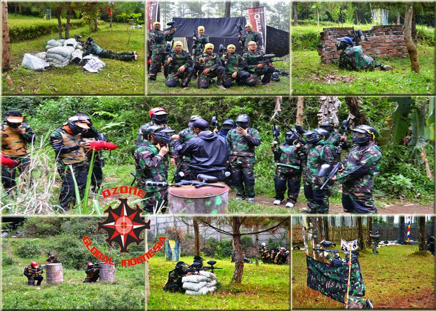 Paintball Event by Ozone Global Indonesia