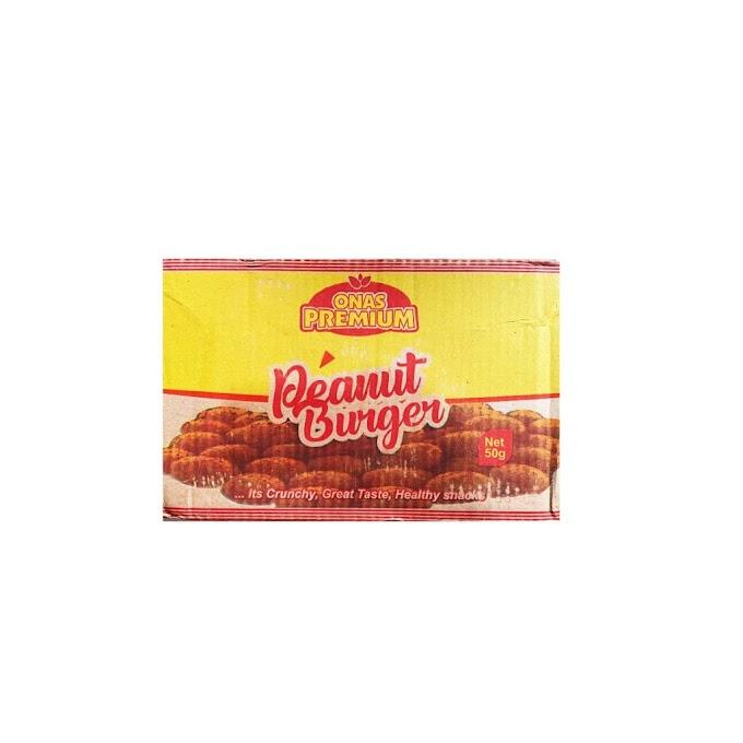 Onas Premium Peanut Burger 50g x 78