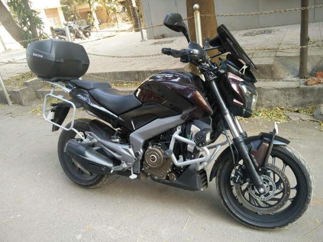 Sahyadri Moto - Bajaj Dominar