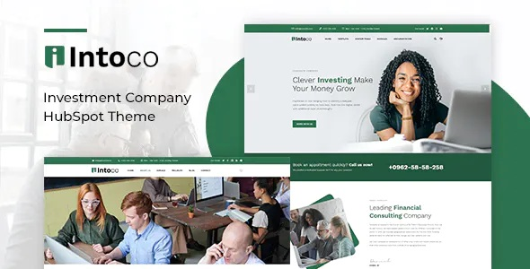 Best Investment Company HubSpot Theme
