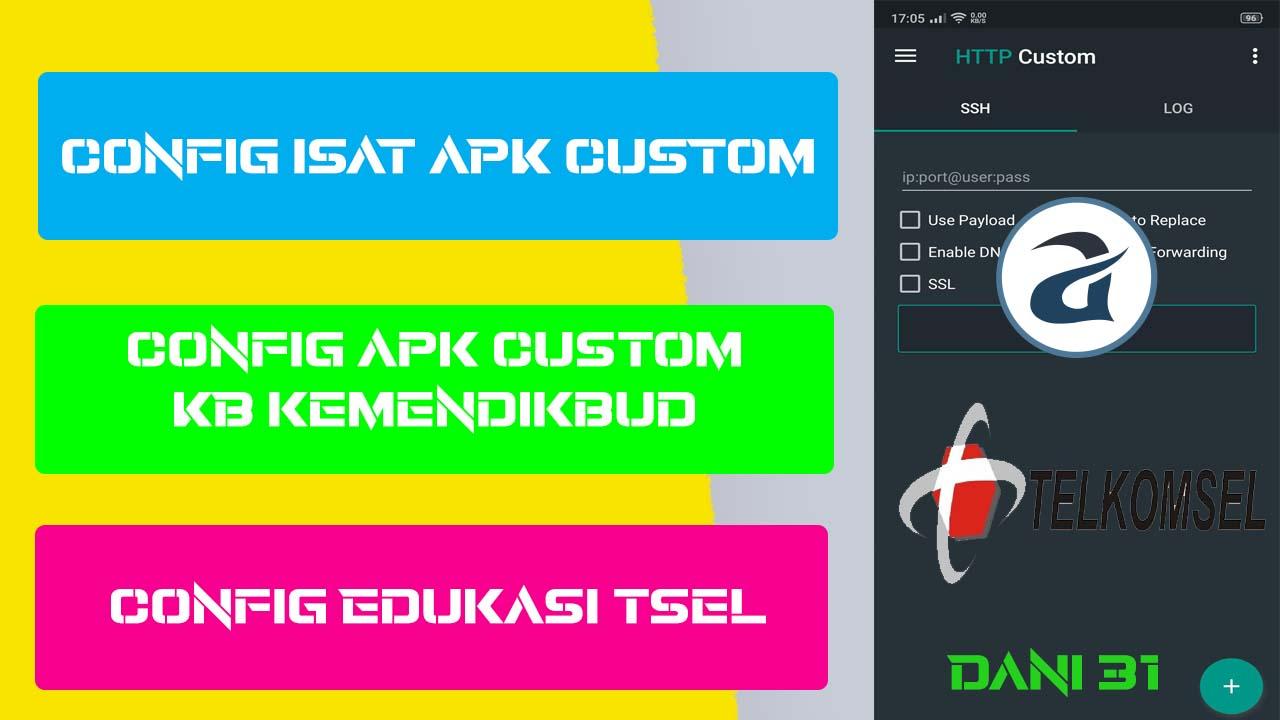 Config APK Custom TSEL KEMENDIKBUD