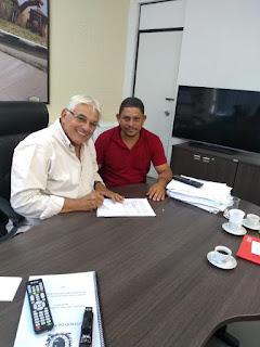 Na cidade  de Sobrado PB, Pre-candidato a prefeito, Roberto da Batata vem ganhando adesões ao longo dos dias