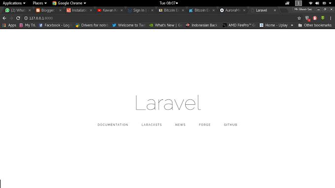 Cara Upgrade Framework PHP Laravel 5.4 ke Laravel 5.5 di GNU/Linux