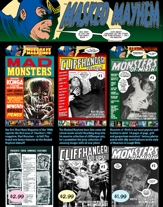 Must Have Magazines of the 1960s Mad Monsters
